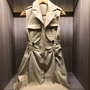 $27 With Purchase Trench Coat Style Dress